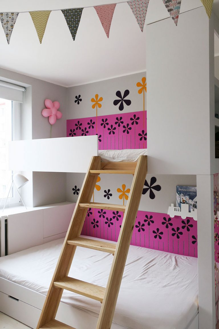custom made wool felt cadding kids room obklad za postel detska izba